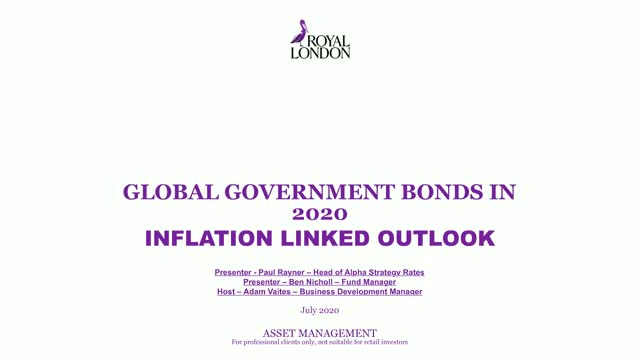 Global government bonds in 2020 - inflation linked outlook