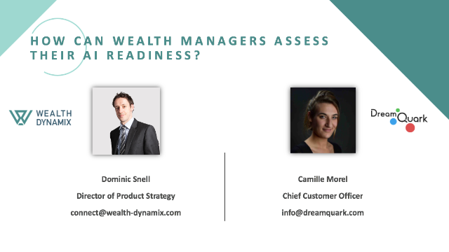 How can wealth managers assess their AI readiness?