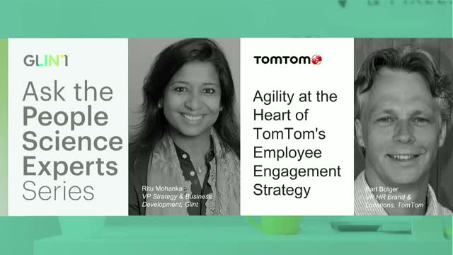 Agility at the Heart of TomTom's Employee Engagement Strategy