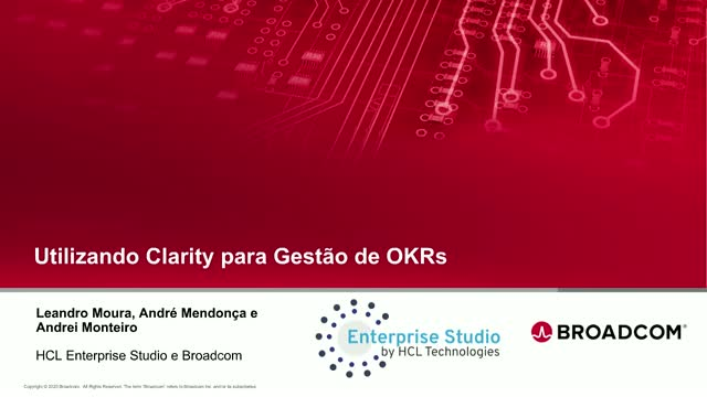 Utilizando Clarity para Gestão de OKRs (Using Clarity for OKRs Management)