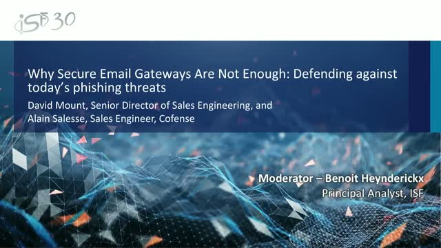 Why Secure Email Gateways are not enough: Defending against phishing threats