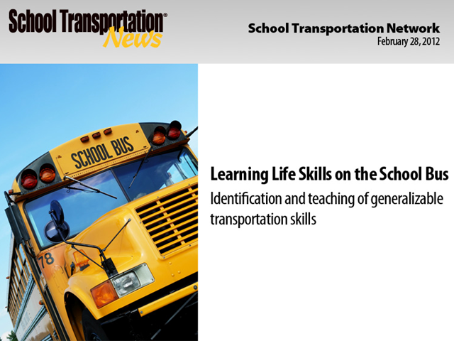 Learning Life Skills on the School Bus