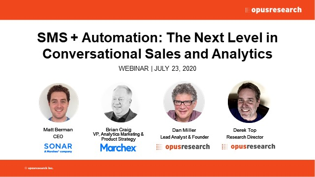 SMS + Automation: The Next Level in Conversational Sales and Analytics
