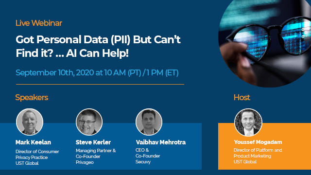 Got Personal Data (PII) But Can't Find it? … AI Can Help!