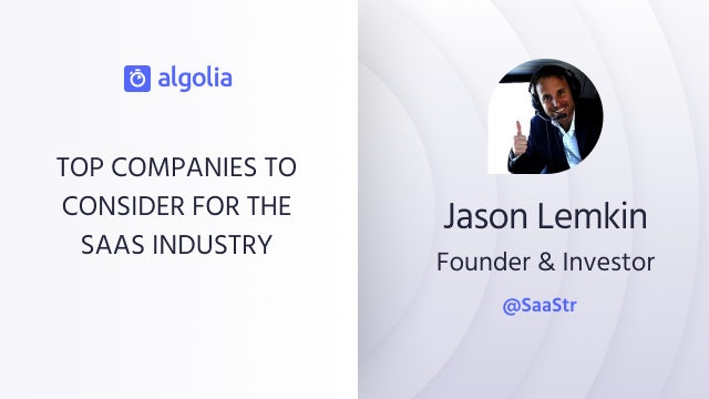 Top companies to consider for the Saas Industry