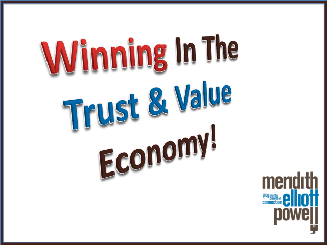How Well Are You Adapting to Today's Trust & Value Economy?