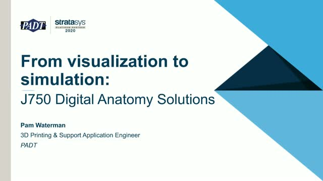 From visualization to simulation: Digital Anatomy Solutions for 3D Printing