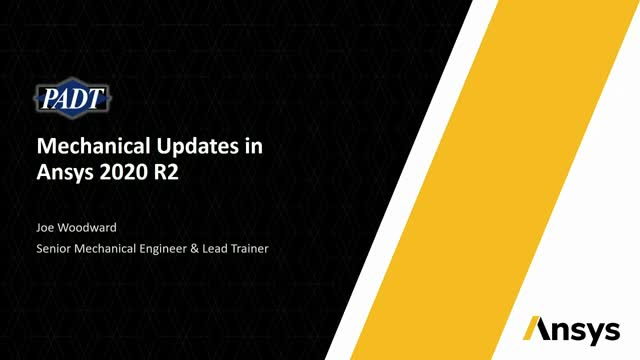 Mechanical Updates in Ansys 2020 R2