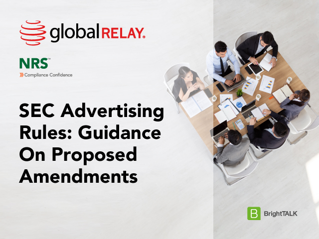 SEC Advertising Rules: Guidance on Proposed Amendments