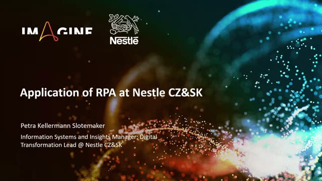 Leveraging RPA as a Sales Driver at Nestle CZ&SK