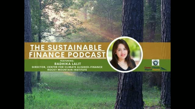 EP: 89: Rocky Mountain Institute and the Banking Sector Unite on Climate Finance