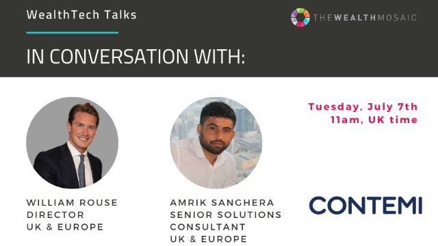 WealthTech Talks: In conversation with Contemi