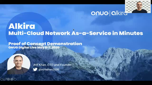 Alkira CTO Demonstrates Building Secure Multi-Cloud Networks in Minutes