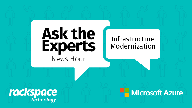 Ask the Experts – News Hour – Infrastructure Modernization