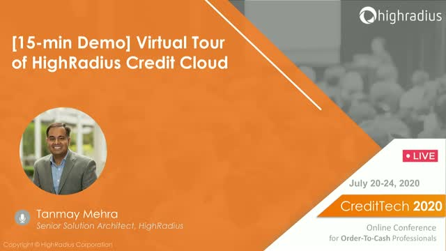 [15-min Demo] Virtual Tour of HighRadius Credit Cloud