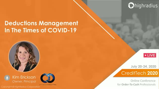 Deductions Management In The Times Of COVID-19