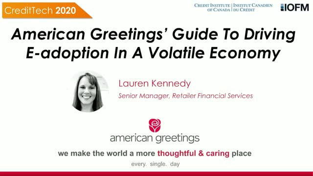 American Greetings Guide To Driving E-adoption In A Volatile Economy