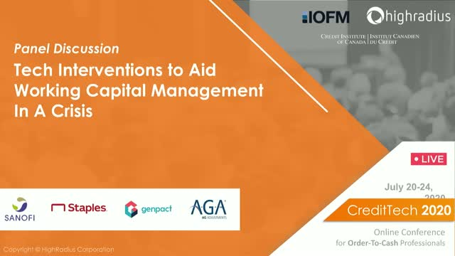 Tech Interventions to Aid Working Capital Management in Crisis