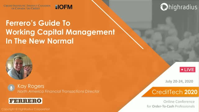 Ferrero's Guide To Working Capital Management In The New Normal