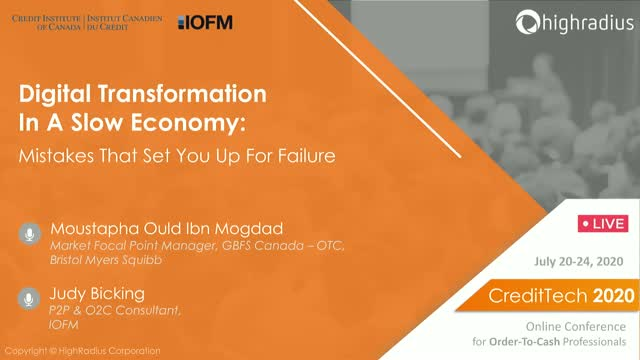 Digital Transformation in a Slow Economy: Mistakes that Set You Up for Failure