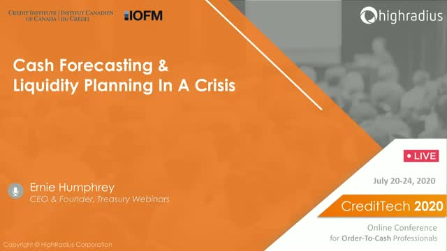 Cash Forecasting and Liquidity Planning In A Crisis