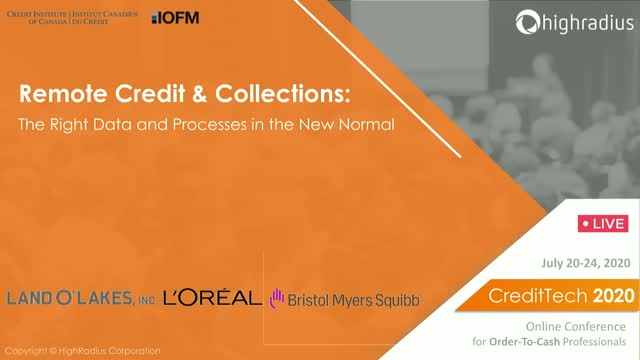 Remote Credit & Collections: The Right Data and Processes in the New Normal
