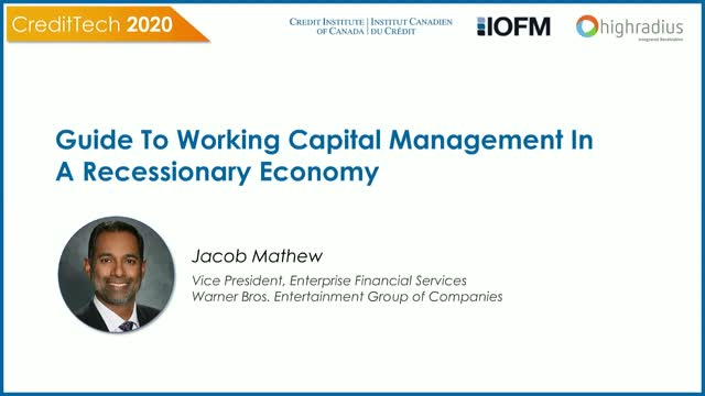 Warner Bros. Strategy for Working Capital Optimization in a Recessionary Economy