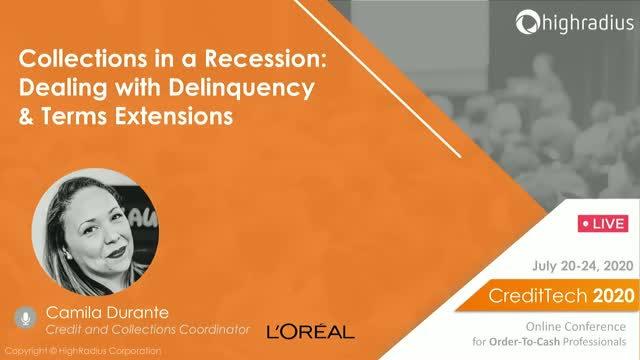Collections in a Recession: Dealing with Delinquency & Terms Extensions