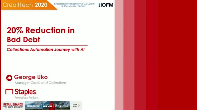 20% Reduction In Bad Debt at Staples: Collections Automation Journey with AI