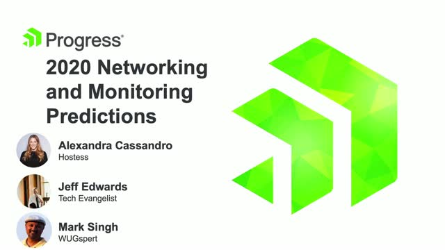 2020 Network Monitoring Predictions