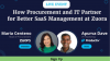 How Procurement and IT Partner for Better SaaS Management at Zuora