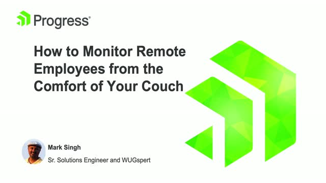 How to Monitor Remote Employees from the Comfort of Your Couch