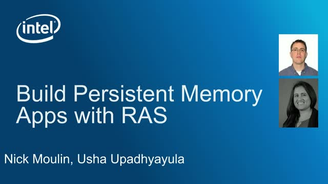 Build Persistent Memory Aware Apps with RAS