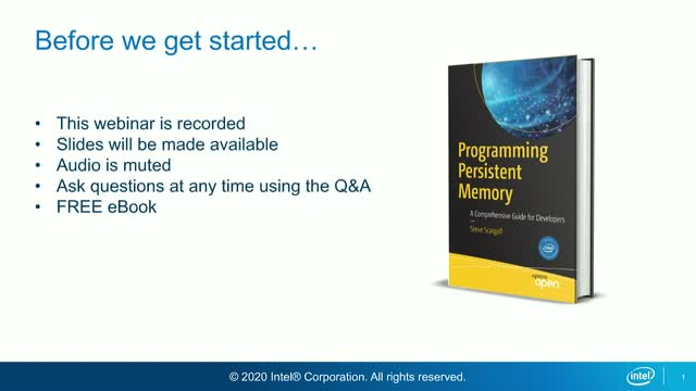 Building Durable Storage Solutions with Intel Optane Persistent Memory - Part 2