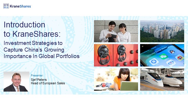 Investment Strategies to Capture China's Growing Importance In Global Portfolios