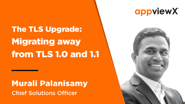 The TLS Upgrade: Migrating Away from TLS 1.0 and 1.1
