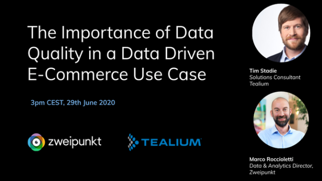 The Importance of Data Quality in a Data Driven E-Commerce Use Case
