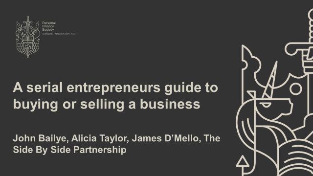 A serial entrepreneurs guide to buying or selling a business