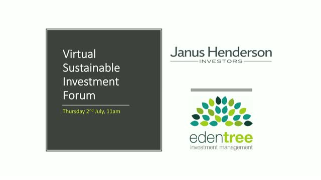 Virtual Sustainable Investment Forum