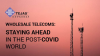 Wholesale Telecoms: Staying Ahead in the post-COVID World