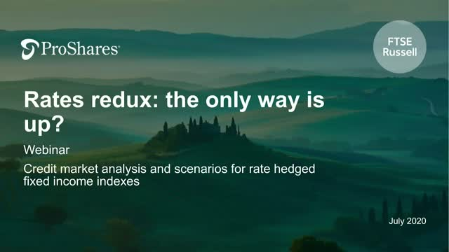 Rates Redux: the only way is up?