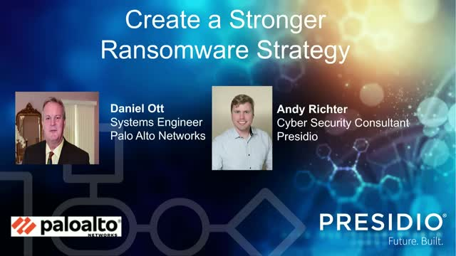 Create a Stronger Ransomware Strategy