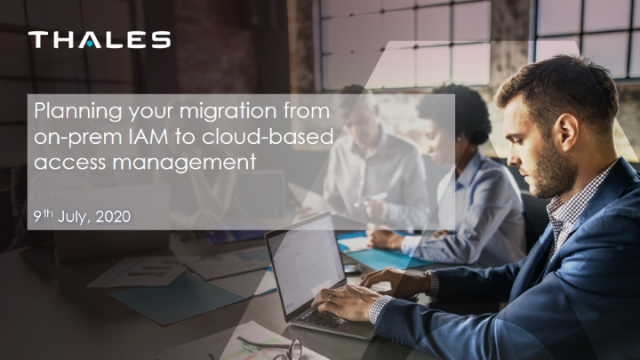 Planning your migration from  on-premise IAM to cloud-based access management