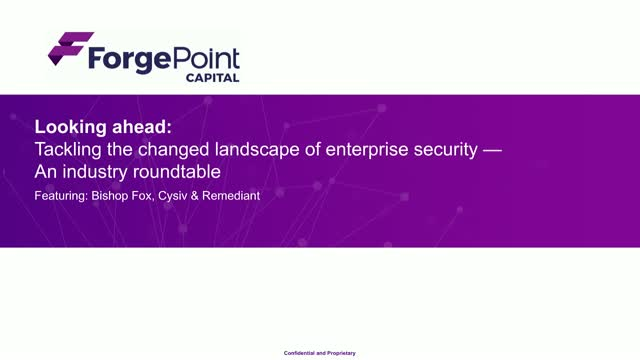 Tackling the changed landscape of enterprise security – An industry roundtable