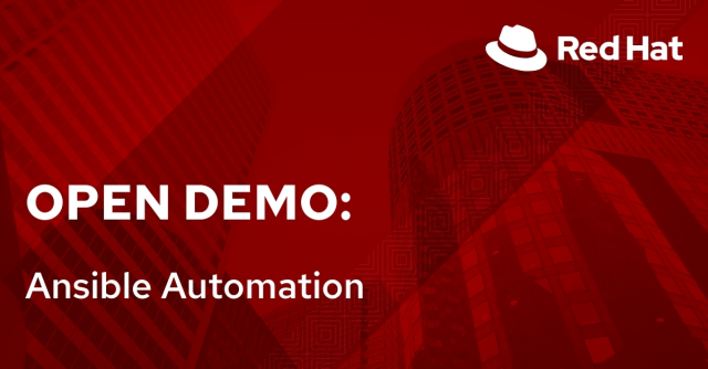 Open Demo: Ansible Automation (6/22)