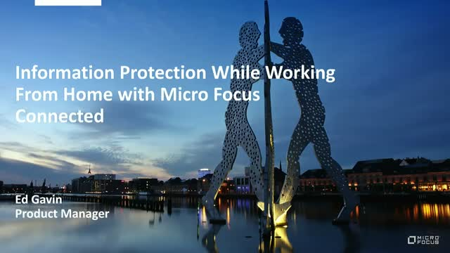 Information Protection While Working From Home with Connected