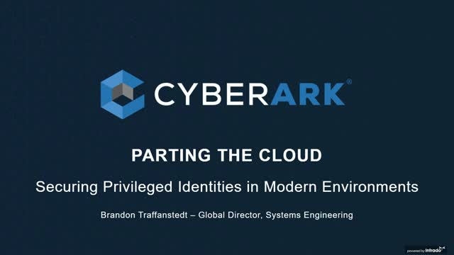 Parting the Cloud : Securing Privileged Identities in Modern Environments
