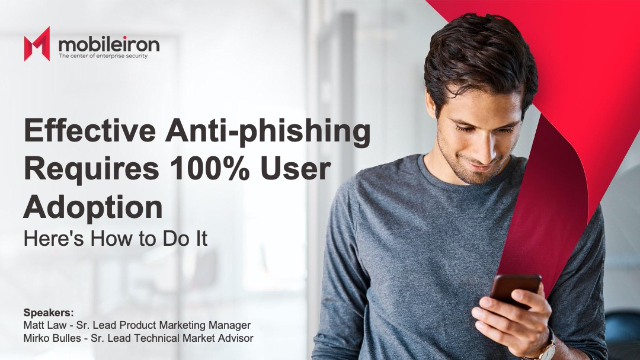 Effective Anti-Phishing Requires 100% User Adoption. Here's How to Do It.