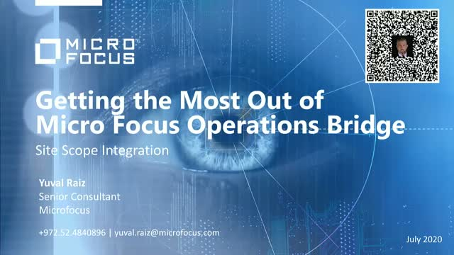 Getting the Most Out of Micro Focus Operations Bridge - Session 2