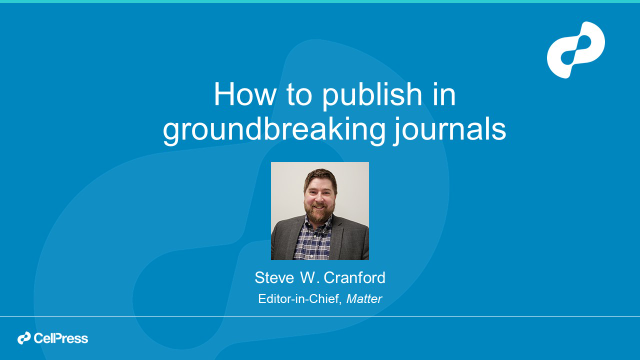 How to publish in groundbreaking journals